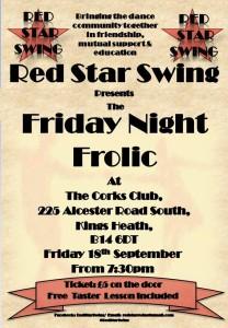 red star swing friday night